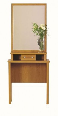 Sen - Dressing Table with big mirror and drawer