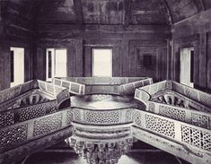 From the 1970 book Living Architecture: Islamic Indian by Andreas Volwahsen