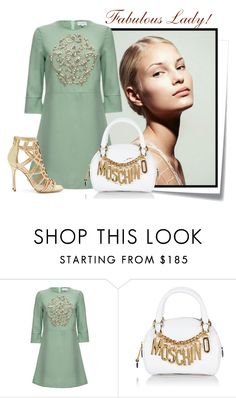 """...."" by elenb ❤ liked on Polyvore featuring Post-It, Moschino, Sergio Rossi and women"