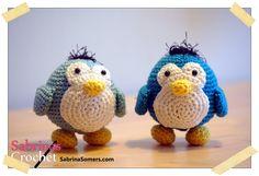 Pinguin Gratis Amigurumi Haakpatroon