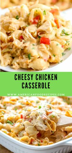 Cheesy Chicken Casserole - Recipe By Mom - Chicken - Cheesy Chicken Casserole – Recipe By Mom Best Picture For chicken crockpot recipes For Your Tas - Casserole Recipes, Pasta Recipes, Dinner Recipes, Cooking Recipes, Cooking Ideas, Cooking Kale, Fun Recipes, Crockpot Recipes, Recipe Ideas