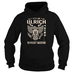 Its an ULRICH Thing You Wouldnt Understand - Last Name, Surname T-Shirt (Eagle)