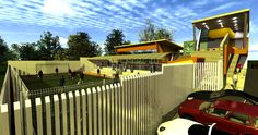 Vista centro recreacional
