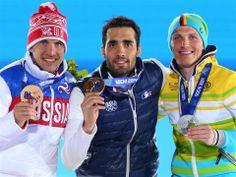 Sochi 2014 - Martin Fourcade médaille d'or - Biathlon 20 km