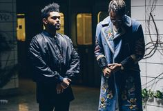 Future And The Weeknd Shoot 'Comin Out Strong' Video