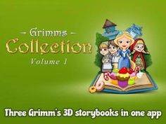 The Grimm's Collection ~ Interactive Books, Jigsaws and Stickers - 3 interactive 'pop-up' books (Rapunzel, Red Riding Hood, Hansel and Gretel - about 30 pages each). Three reading modes ('read to me', 'read it myself', 'autoplay'). Original Appysmarts score: 93/100