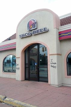 Here's Why Stoners Should Never Be Denied Taco Bell. Haha on Markham road
