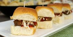 The easiest meatball sliders you will ever make! With the help of KING'S HAWAIIAN® Sweet Dinner Rolls, you've got yourself a perfect party appetizer.