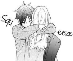 Anime Love Couple, Cute Anime Couples, Cute Hug, Desenhos Love, Manga Cute, Horimiya, Namaikizakari, Anime Kawaii, Shoujo