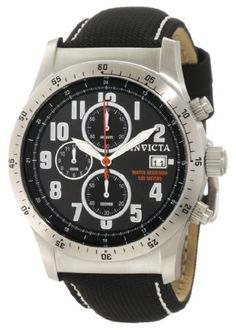 Men's Wrist Watches - Invicta Mens 1315 Specialty Chronograph Black Techno Watch * Continue to the product at the image link. (This is an Amazon affiliate link)
