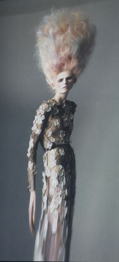Strange (human?!) creatures  Vogue 2011 - Chanel  Photography: Paolo Roversi
