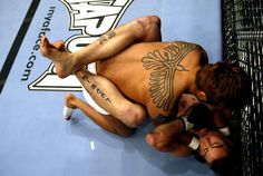UFC fighters' tattoos