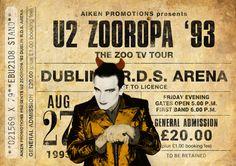 Impresión original de U2: Viven en EL ZOO TV TOUR, ZOOROPA 93. Se trata de un original diseño inspirado en las clásicas actuaciones de artistas legendarios. Este llamativo cartel estilo vintage grabado sería un gran regalo para cualquier fan de U2. Celebra las actuaciones de cantantes legendarios de 1993 DEL ZOO TV Tour, ZOOROPA 93. Todas nuestras impresiones se producen los más altos estándares utilizando el mejor papel de arte fino de trapo de algodón 220gsm. El papel blanco natural que…
