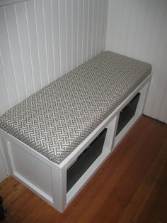 Diy No Sew Bench Cushion Diy Home Decor Bench How To Make A Window Seat Cushion Video Click Next Page To Learn How To Make A Bench That Is No