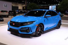 2020 Honda Civic Type R Arrives In Chicago With Outrageous New Color. Honda's hot hatch gets a wealth of performance and styling updates for Civic Jdm, Honda Civic Hatchback, Honda S2000, Honda Sports Car, Honda Cars, Honda Civic Type R, New Honda, Honda Civik, Corolla Hatchback