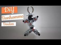 tuto fête des pères porte clé bonhomme boulons - YouTube Cricut, Mother And Father, Pixel Art, Fathers Day, Diy And Crafts, Homemade, Activities, Personalized Items, Cycle 1
