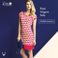 Our new collection and #fluid and #organic fabric Liva!