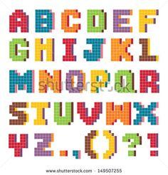 pixelated art - Google Search