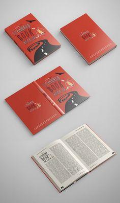 Standard Book Mockup PSD