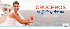 Ofertas de viajes en www.viajesviaverde.es: Cruceros en Julio y Agosto