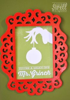 A Very Grinchy Christmas (Party On a Budget) by One Swell Studio #Grinch