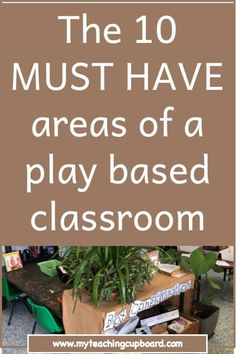 The 10 Essential Areas of A Play Based Classroom — My Teaching Cupboard