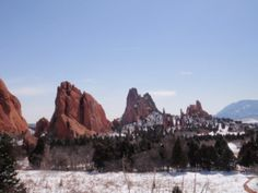 Cross Country Road Trip 2010, through the western USA. Garden of the Gods, CO.