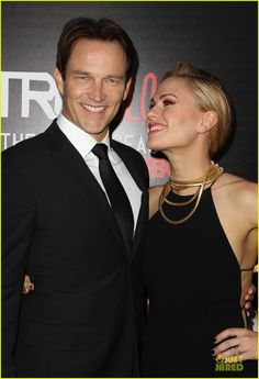 Anna Paquin Gives the Look of Love to Stephen Moyer at 'True Blood' Season 7 Premiere!