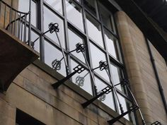 Charles Rennie Mackintosh detail of Glasgow School of Art