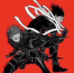 My Hero Academia - Shinsou & Aizawa