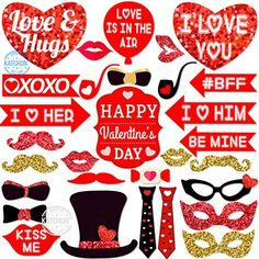 Ideas Wedding Decoracion Red Photo Booths For 2019 Valentines Day Photos, Valentines Day Decorations, Birthday Decorations, Happy Valentines Day, Navy Wedding Invitations, Wedding Favors, Photo Booth Props, Photo Booths, Bachelorette Party Supplies