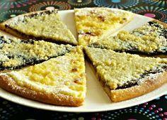 Tradiční frgále z Valašska plněné různými náplněmi, tvarohovou, hruškovou, jablečnou ...