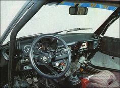 Talbot cockpit