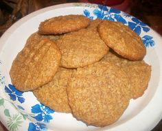 Cut the Wheat: Chewy Peanut Butter Cookies
