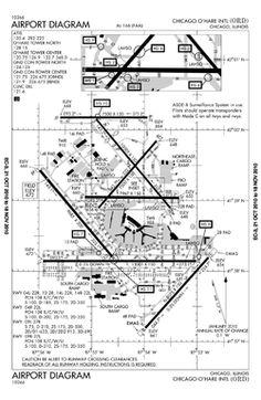 Denver International Airport Map   Flying   Pinterest ...