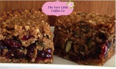 Homemade Granola Flapjack by The Very Little Coffee Co.