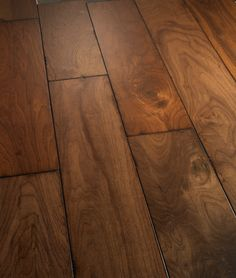 Love this Antique-Style Distressed Hardwood Flooring - Estate Collection from Bella Cera