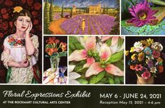 Hello, just popping in to share some exciting news! Julia and I have each been accepted to participate in the Floral Expressions Exhibit at the Rockmart Cultural Arts Center! This is the first time Julia and I both have been in a gallery setting together and we couldn't be more excited! The exhibit runs from... Star Flower, Exciting News, Bead Weaving, Exhibit, Fused Glass, Digital Art, Culture, Watercolor, Gallery