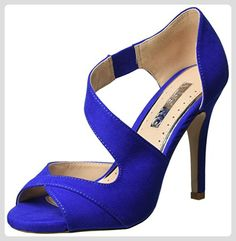 Miss KG Damen Flow Pumps, Blau (Blue), 38 EU - Damen pumps (*Partner-Link)