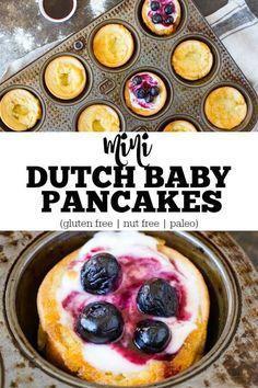 Puffy, crispy, pancakey goodness. Gluten free. Nut free. Paleo. So easy to make!