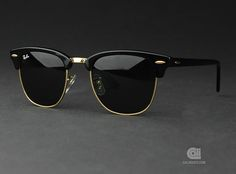 Don't you want hose glasses? I would ! Ray bann Clubmaster Ebony cool-sunglasses
