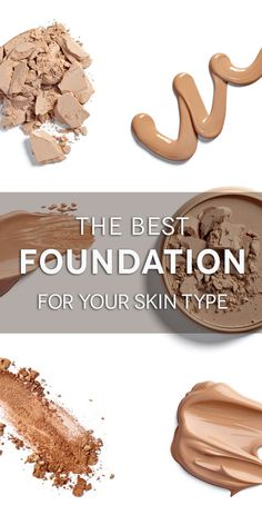 Pick the best foundation for your skincare concerns.