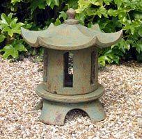 L6. Garden lantern. Tsukimi 43x35cm £293, Kate Mellors