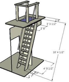 how to build ship ladder - Google Search