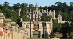 Harlaxton Manor - I stayed here for a 2 week class in June 2008. Great time!