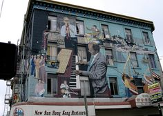 San Francisco Musical Mural