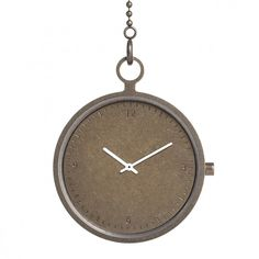 With a 45 millimetre diameter case  made from stainless steel, the Axcent Pocket Watch by People Products is available with either a dark grey or bronze finish. #watches #design