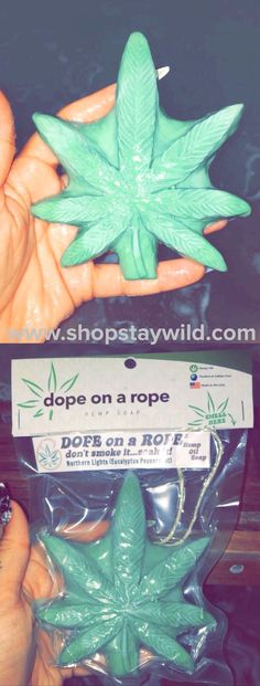 Dope on a rope hemp oil soap is now available at ShopStayWild  #love #home #ideas #things #idea #marijuana #cannabis #stoned #high #cannabiscures #legalize #420 #710 #wax #shatter #glass #vape #style #ideas #ganja #kush #cbd #bath #smoke #bongbeauties #soap #hemp #cbdsoap #cbd oil #hemp oil #alien #ganjagirls #potprincess #bakedbarbie #stonergirl #stoner problems #weed humor #funny #cool