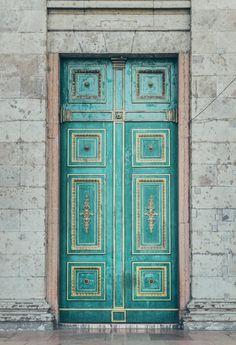 Door in Esztergom, Hungary