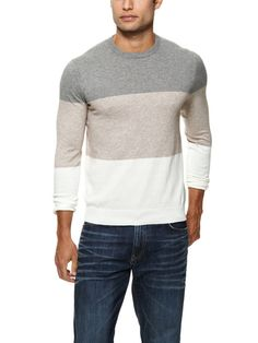 Airedale Color Blocked Sweater